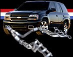 American Racing Headers - 2006-2009 Trailblazer SS & 5.3L