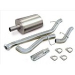 Corsa 1999-2006 Silverado/Sierra ECSB 4.8L/5.3L Cat Back System w/ 4.0in  Polished Slash Tip - COR24260