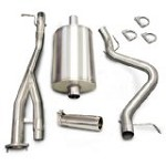 Corsa 2003-2007 Silverado SS  Cat Back System w/ 4.0in  Polished Slash Tip - COR24279