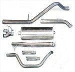 Corsa 2009 Silverado/Sierra Cat Back system w/ 4in Polished Slash Tip - COR24903
