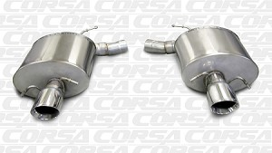 Corsa 2011-2015 CTS-V Axle-Back Exhaust Systems