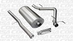 Corsa Sport 2011-2013 6.2L 1500 Truck Slash Cut Exhaust Systems